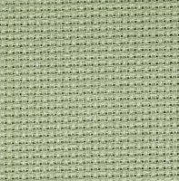 Aida 18ct w.110cm Celadon Green (3793.611) /10cm increments