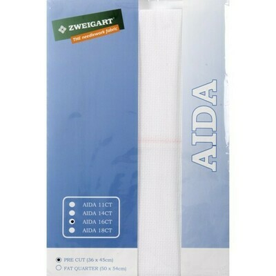 Aida 16ct PreCut White (PC3251.100)