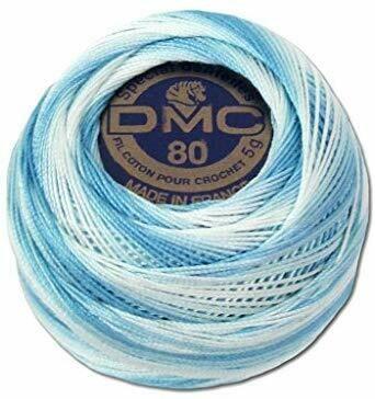 DMC Cordonnet #40 Cotton 0067 - Baby Blue