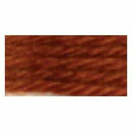 DMC486 Tapestry Wool Skein 7457 - Tan / Mahogony