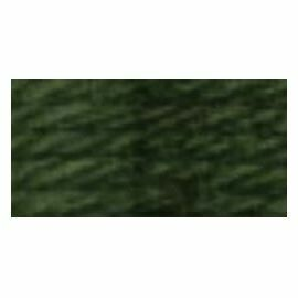 DMC486 Tapestry Wool Skein 7427 - Dark Khaki Green