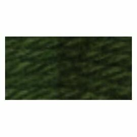 DMC486 Tapestry Wool Skein 7890 - Very Dark Khaki Green