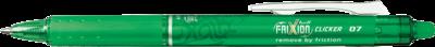 Pilot Frixion Clicker Retractable 0.7 Pen - Green