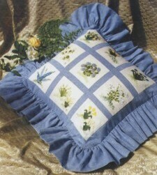 Helen Dafter Silk Ribbon Embroidery Spring Sampler Pattern