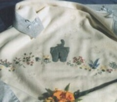 Helen Dafter Silk Ribbon Embroidery Bubbles Baby Blanket Pattern