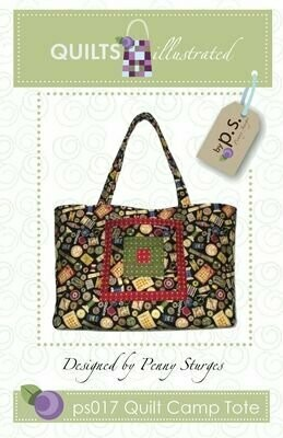Quilts Illustrated Quilt Camp Tote (PS017)