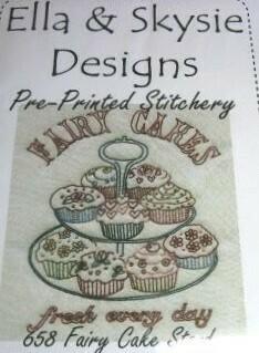 Ella & Skysie Designs Fairy Cake Stand (658)