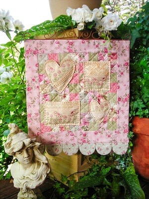 The Rivendale Collection Sweet Nothings Wall Hanging
