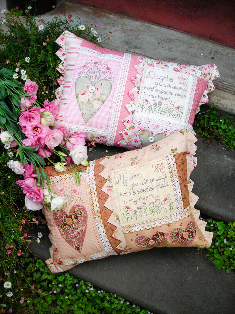 The Rivendale Collection - In My Heart Cushions