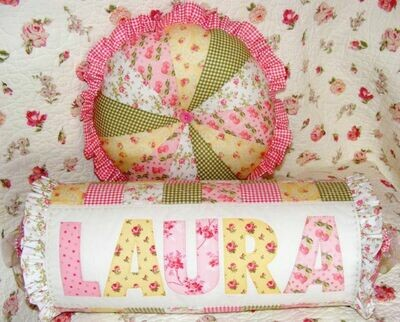 Petals & Patches - Frilly Floral Cushions