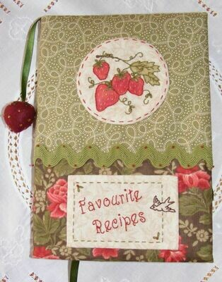 Petals & Patches Teatime Memories Favourite Recipe Journal