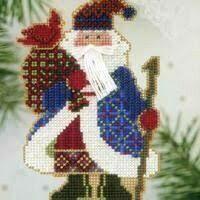 Mill Hill Alpine Santa - Cardinal Santa (MHAS15)