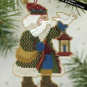Mill Hill Alpine Santa - Dove Santa (MHAS14)