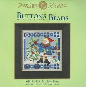 Mill Hill Buttons & Beads Winter Series - Mr Jack Frost (MH14-5303)