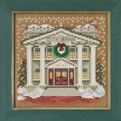 Mill Hill Buttons & Beads Winter Series - City Bank (MH14-5302)