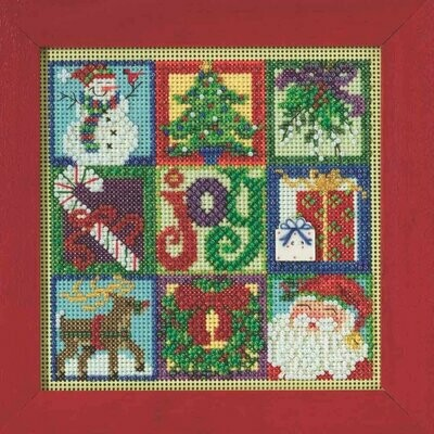 Mill Hill Buttons & Beads Winter Series - Christmas Collage (MH14-9306)