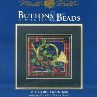 Mill Hill Buttons & Beads Winter Series - French Horn (MH14-4306)