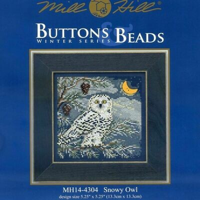 Mill Hill Buttons & Beads Winter Series - Snowy Owl (MH14-4304)