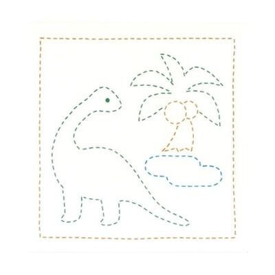 Olympus - Dinosaur Sashiko Kit (SK277)