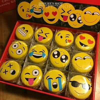 Box - Round Emoji Tin