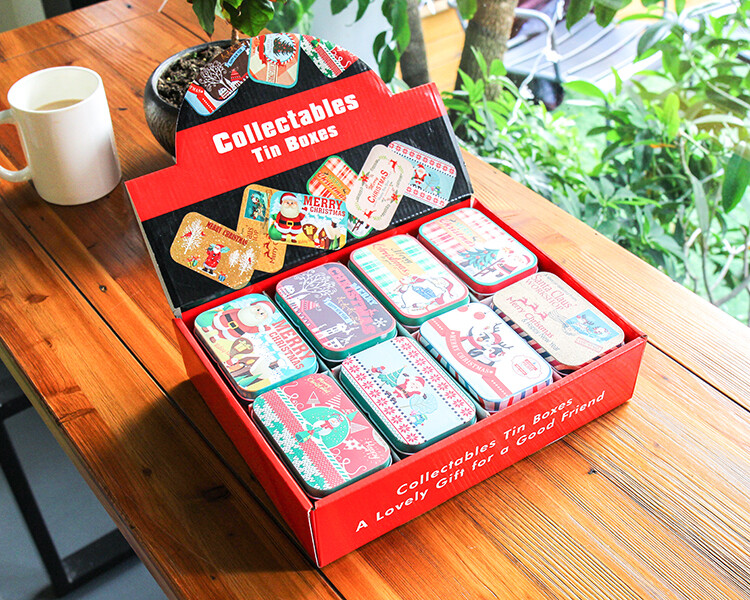 Box - Slim Xmas Tin