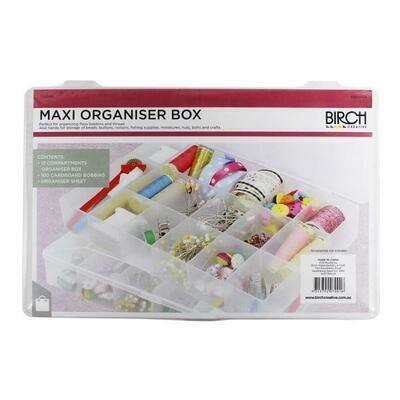 Birch Floss Organiser Box with 100 floss cards (007009)