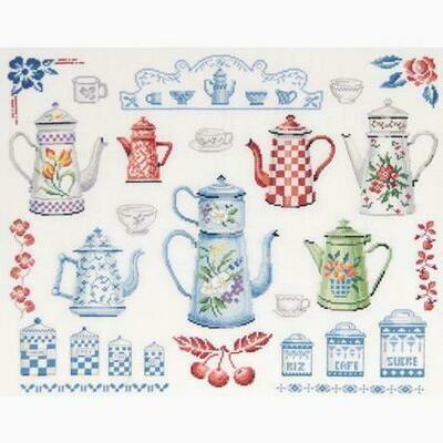 DMC Deco Coffee Pots Collection (BK1202)
