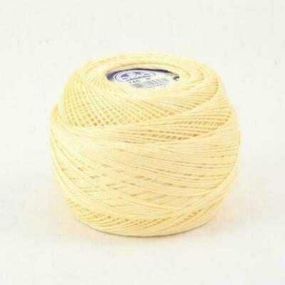 DMC Cebelia #40 Cotton 0745 - Light Pale Yellow