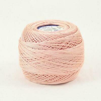 DMC Cebelia #30 Cotton 0754 - Light Peach