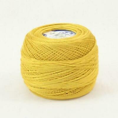 DMC Cebelia #30 Cotton 3820 - Dark Straw