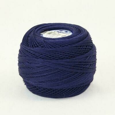 DMC Cebelia #30 Cotton 0823 - Dark Navy Blue