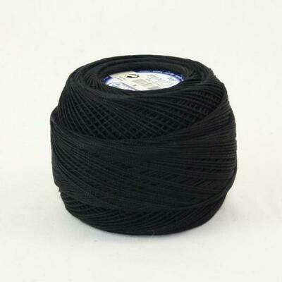 DMC Cebelia #30 Cotton 0310 - Black