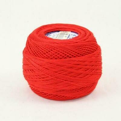DMC Cebelia #30 Cotton 0666 - Bright Red