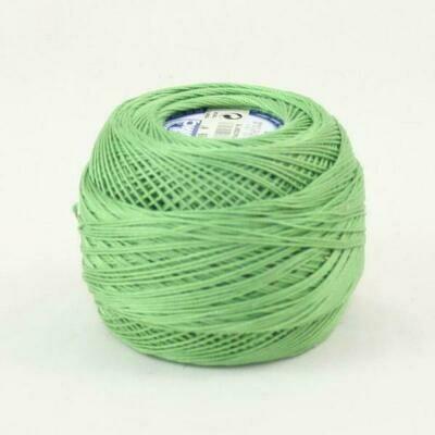 DMC Cebelia #30 Cotton 0989 - Forest Green