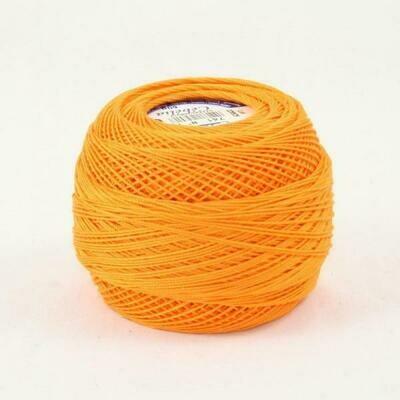 DMC Cebelia #30 Cotton 0741 - Medium Tangerine