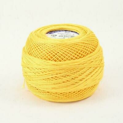 DMC Cebelia #30 Cotton 0743 - Medium Yellow