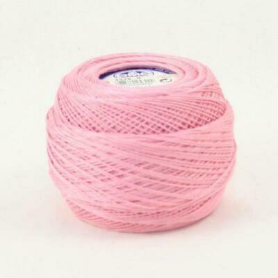 DMC Cebelia #20 Cotton 3326 - Light Rose