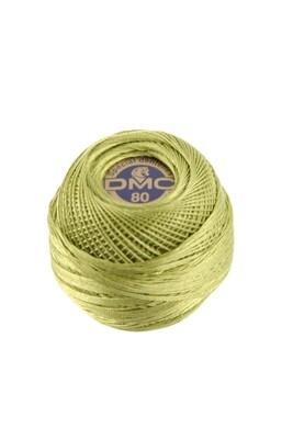 DMC Dentelles #80 Cotton Ball 0471 - Very Light Avocado Green