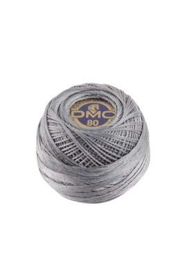 DMC Dentelles #80 Cotton Ball 0414 - Dark Steel Grey