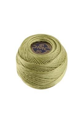 DMC Dentelles #80 Cotton Ball 3348 - Light Yellow Green