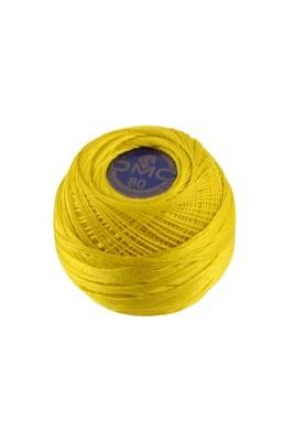 DMC Dentelles #80 Cotton Ball 0444 - Dark Lemon