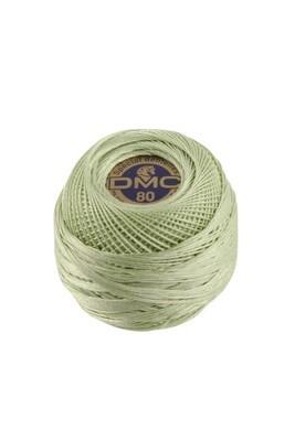 DMC Dentelles #80 Cotton Ball 0369 - Very Light Pistachio Green
