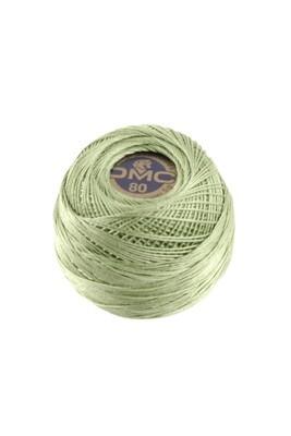 DMC Dentelles #80 Cotton Ball 0368 - Light Pistachio Green