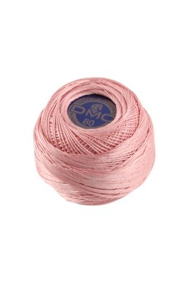 DMC Dentelles #80 Cotton Ball 3326 - Light Rose