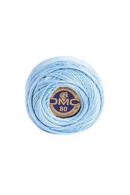 DMC Dentelles #80 Cotton Ball 3325 - Light Baby Blue