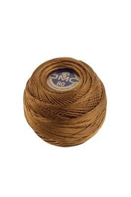 DMC Dentelles #80 Cotton Ball 0433 - Medium Brown