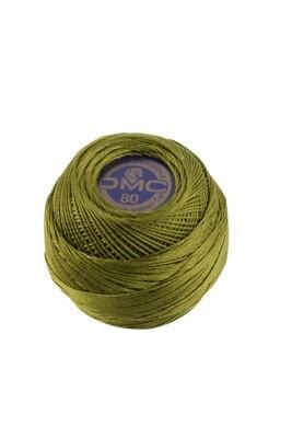 DMC Dentelles #80 Cotton Ball 0469 - Avocado Green
