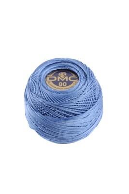 DMC Dentelles #80 Cotton Ball 0798 - Dark Delft Blue
