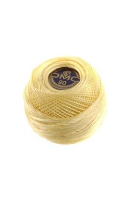 DMC Dentelles #80 Cotton Ball 0745 - Light Pale Yellow