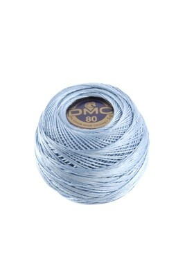 DMC Dentelles #80 Cotton Ball 0813 - Light Blue